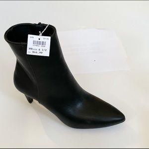 Christian Siriano Payless black booties sz 6.5 NEW